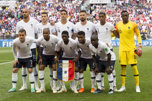 Russia: World Cup 2018 - Denmark v France