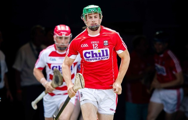 Seamus Harnedy leads the team out