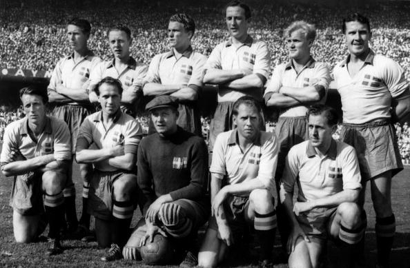 Swedish Team At The World Cup 1958