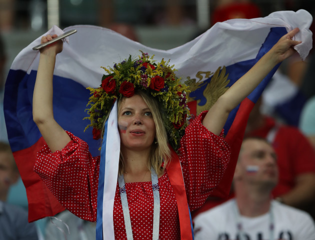 (SP)RUSSIA-SOCHI-2018 WORLD CUP-QUARTERFINAL-RUSSIA VS CROATIA