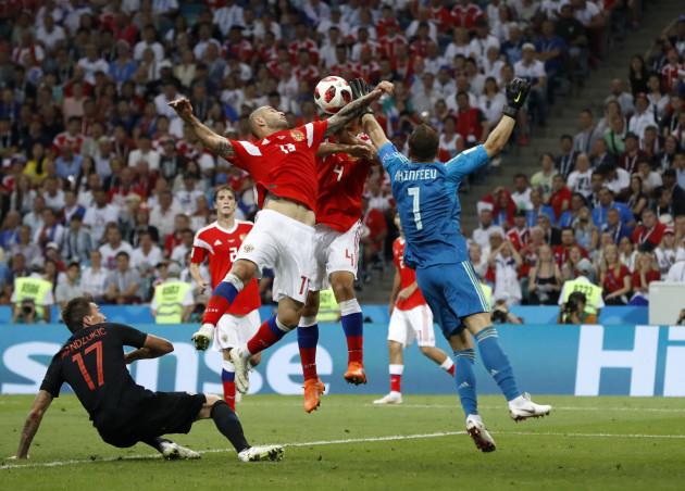 Russia Soccer WCup Russia Croatia