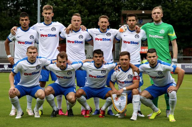 The Dynamo Minsk Team