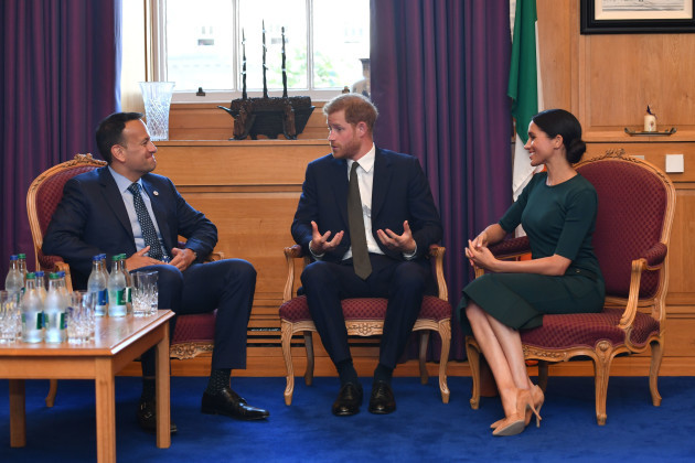 Royal visit to Dublin - Day One