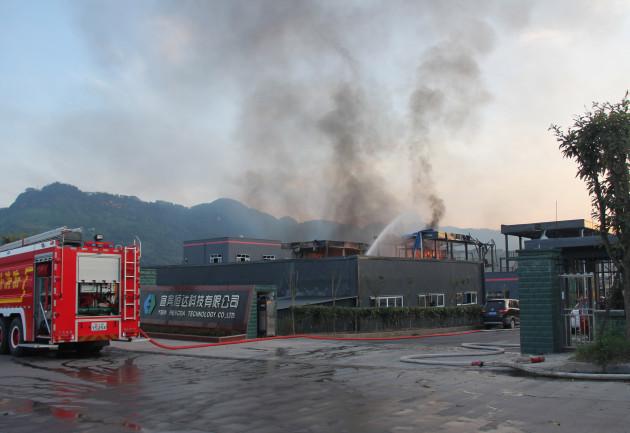 CHINA-SICHUAN-JIANG'AN-BLAST (CN)