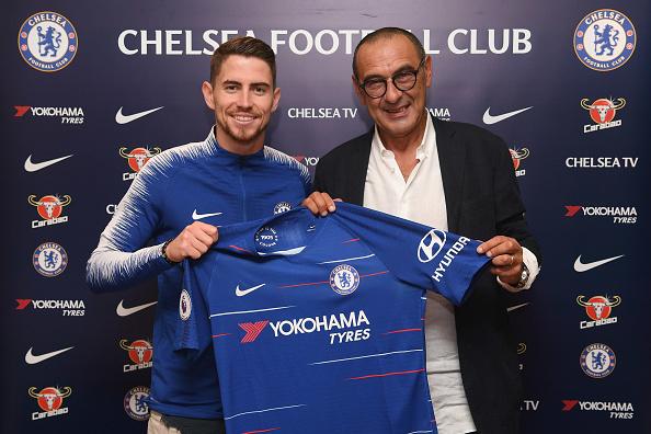 Chelsea Unveil New Signing Jorginho