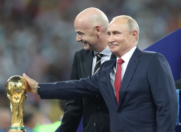 (SP)RUSSIA-MOSCOW-2018 WORLD CUP-FINAL-FRANCE VS CROATIA