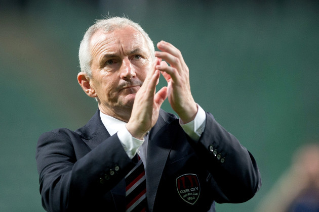 John Caulfield applauds the fans