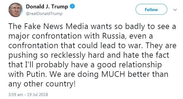 Trump tweet s