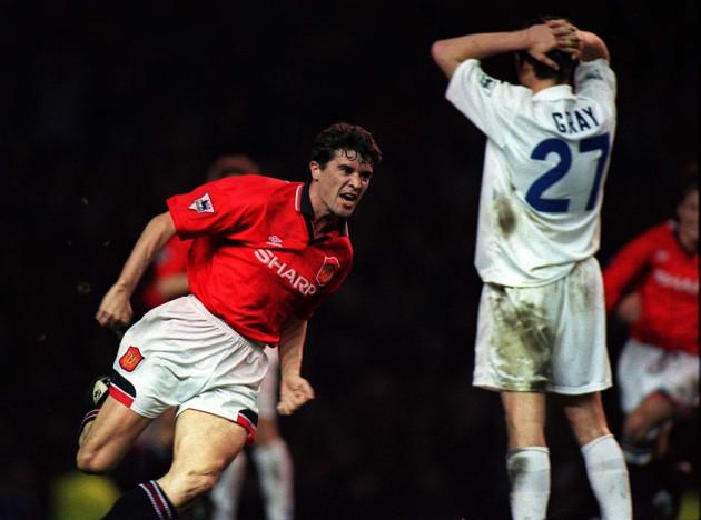 SOCCER Man Utd Keane 2