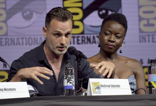 2018 Comic-Con - The Walking Dead Panel