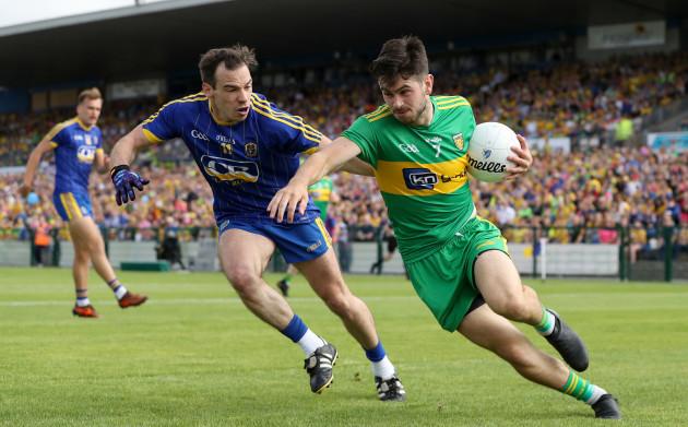 Niall Kilroy with Ryan McHugh