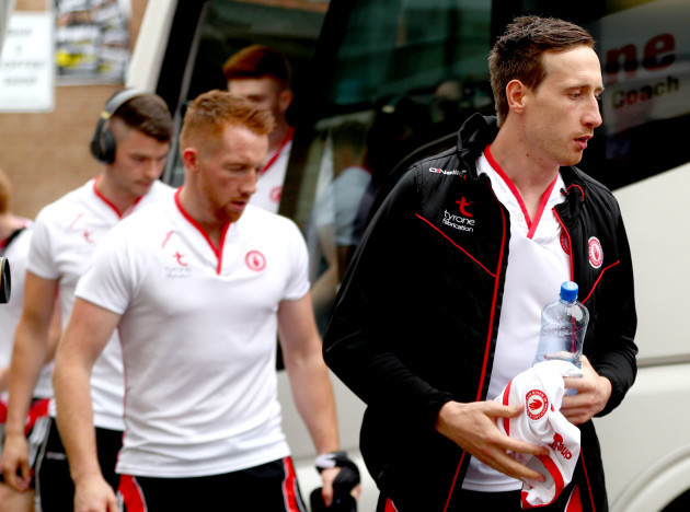 Colm Cavanagh arrives