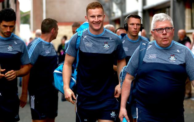 Ciaran Kilkenny arrives