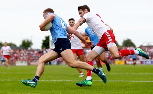Ciaran Kilkenny and Ronan McNamee