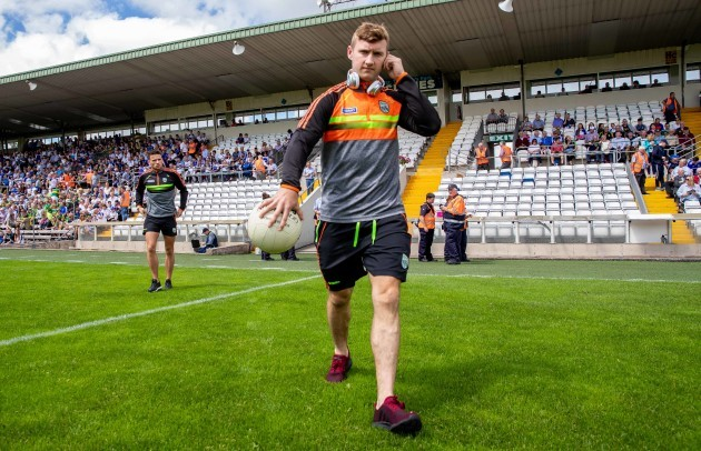 James O'Donoghue arrives
