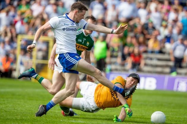 Conor Mc Manus scores a goal