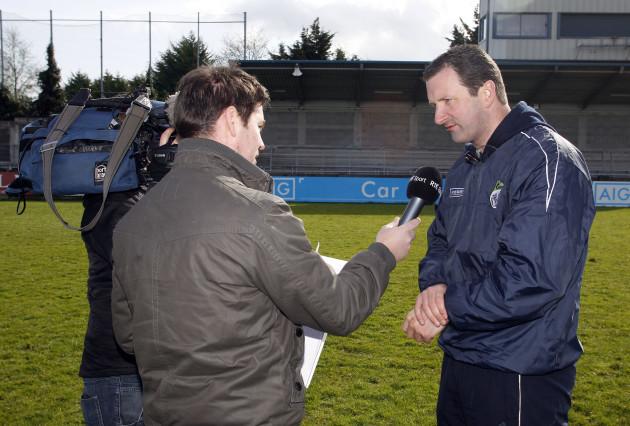 Brendan Cummins is interviewed