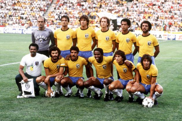 Soccer - World Cup Spain 82 - Group Six - Brazil v New Zealand