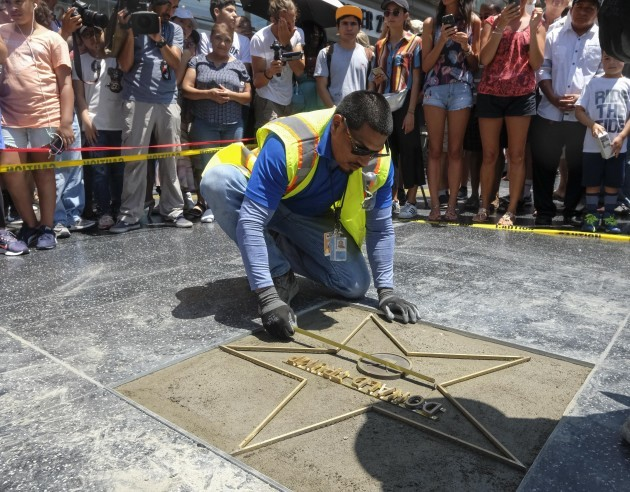 Trump's Star on the Hollywood Walk of Fame Destroyed