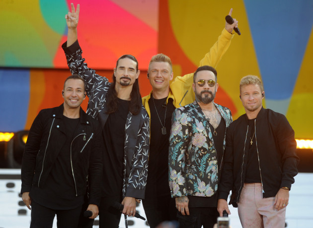 Back Street Boys Performs At GMA - NYC