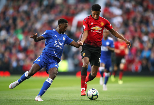 Manchester United v Leicester City - Premier League - Old Trafford