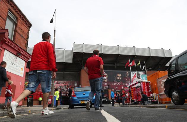 Liverpool v West Ham United - Premier League - Anfield