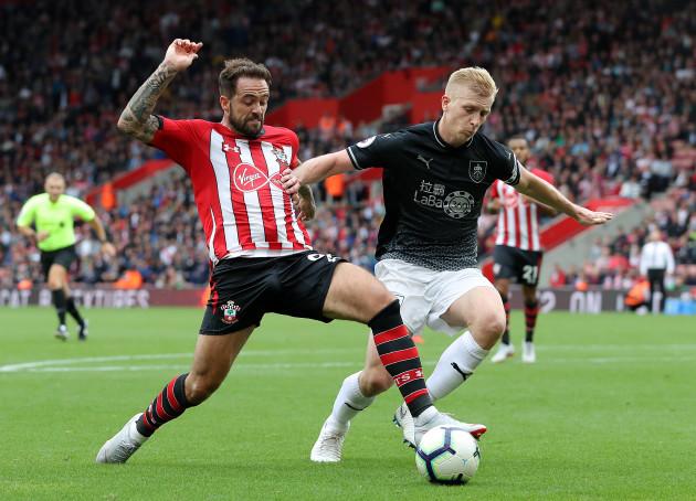 Southampton v Burnley - Premier League - St Mary's Stadium