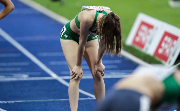 Ciara Mageean dejected after finishing fourth