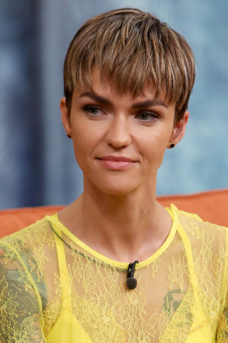 FL: Actress Ruby Rose Visit Univision's 'Despierta America'