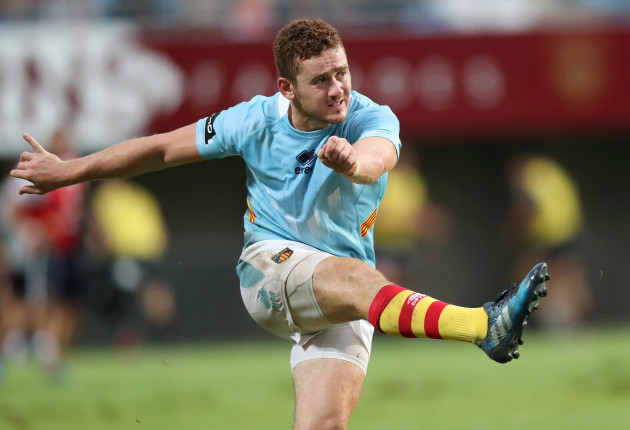 Paddy Jackson kicks