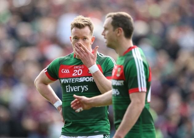 Donal Vaughan after the final whistle