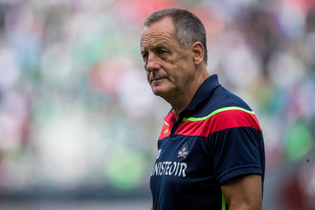 John Meyler dejected at the end of the game