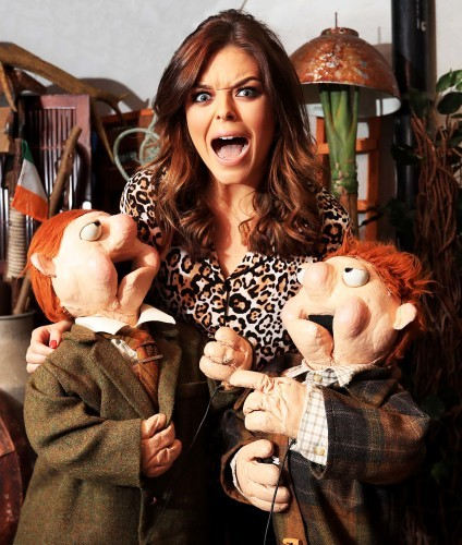 Podge and Rodge with Doireann Garrihy