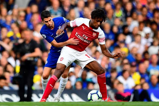 Chelsea v Arsenal - Premier League - Stamford Bridge