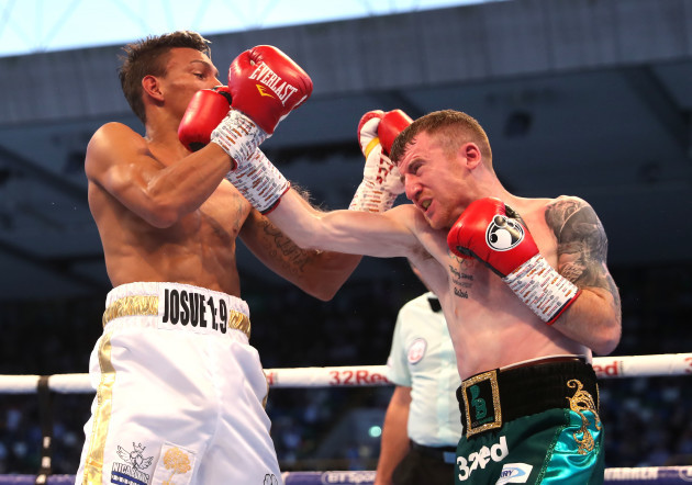 Cristofer Rosales with Paddy Barnes