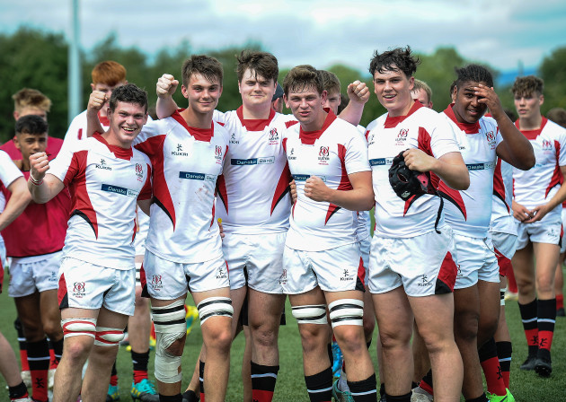 Ulster players celebrate