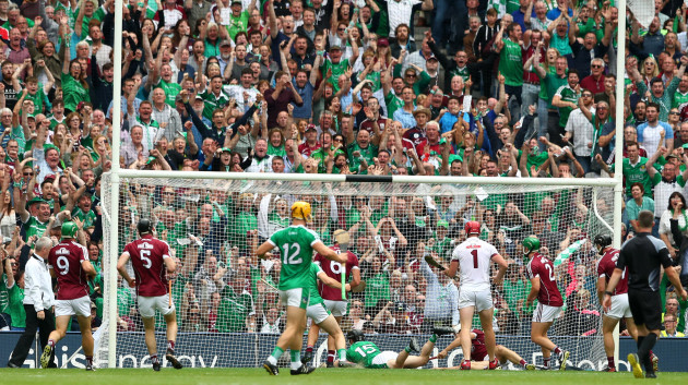 Graeme Mulcahy scores his sides first goal