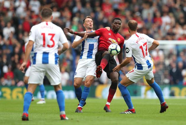 Brighton & Hove Albion v Manchester United - Premier League - AMEX Stadium