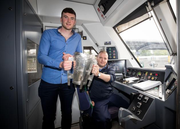 Declan Hannon with John Hanrahan