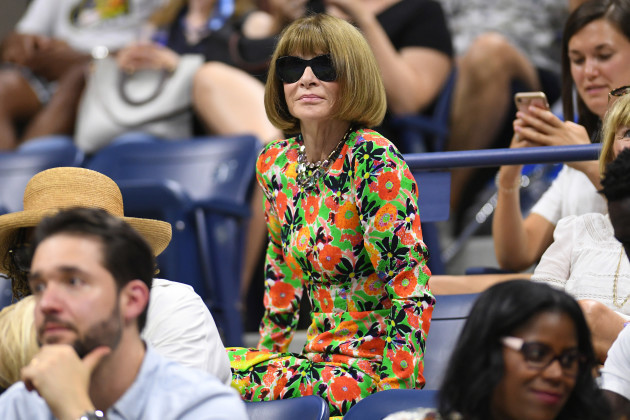 NY: Celebrity Sightings At 2018 US Open -Day 3