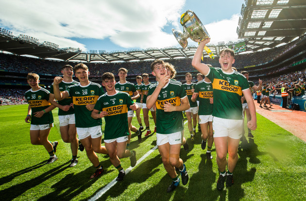 Kerry celebrate after the game