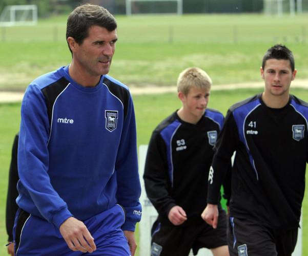 Soccer - Roy Keane First Training Session - Playford Lane