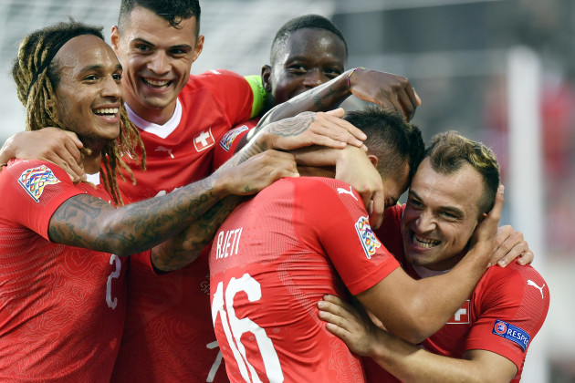 Switzerland UEFA Nations League Switzerland Iceland