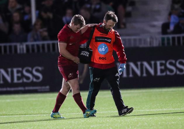 Munster's Neil Cronin injured