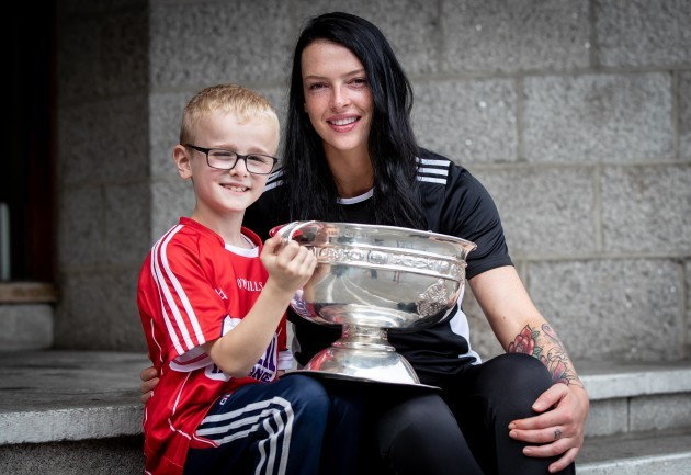 Aisling Thompson with Jack O'Brien