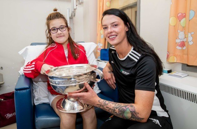 Aisling Thompson with Erin Keogh