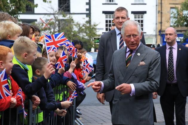 Royal visit to Northumberland