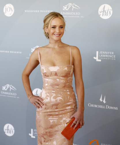 Jennifer Lawrence Attends Awards in the Arts Ceremony - Louisville