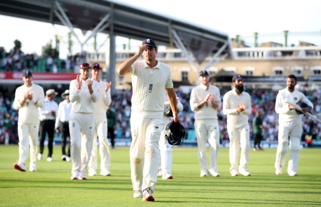 England v India - Fifth Test - Day Four - The Kia Oval