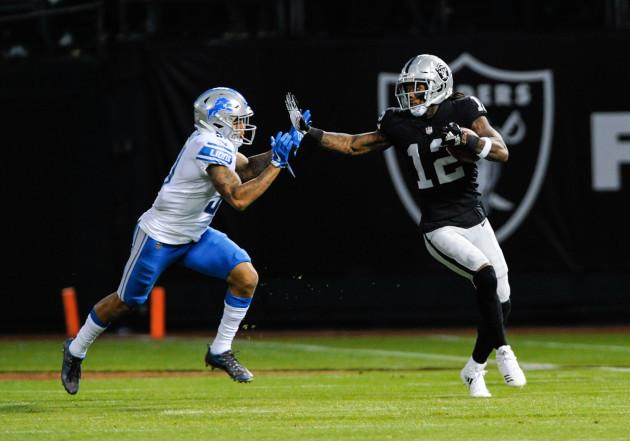 NFL: AUG 10 Preseason - Lions at Raiders
